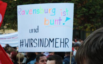 Nachbericht zur Kundgebung am 15.10.2018 in Ravensburg